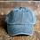 vintage black christian faith low profile baseball cap