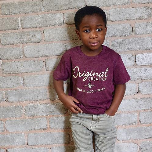 boy wearing childs original creation christian t-shirt