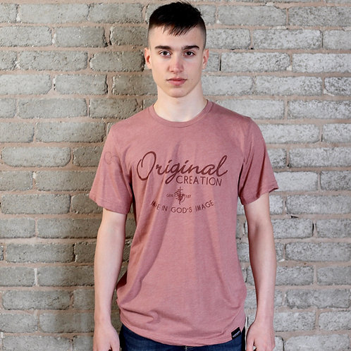 mauve pink mens christian tee uk