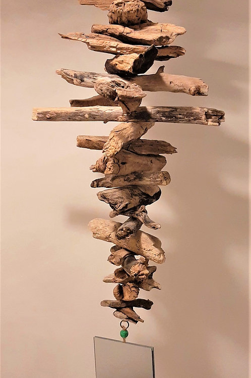 Suspenions en bois flotté