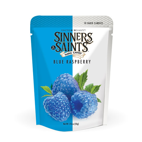 Sinners & Saints® Hard Candy - Blue Raspberry