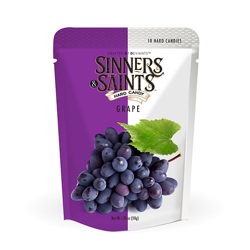 Sinners & Saints® Hard Candy - Grape