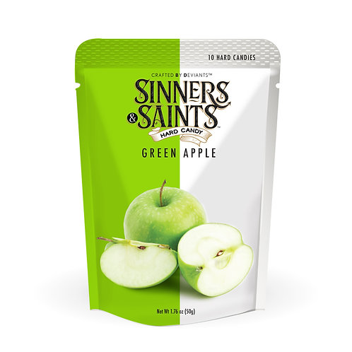 Sinners & Saints® Hard Candy - Green Apple
