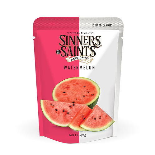 Sinners & Saints® Hard Candy - Watermelon