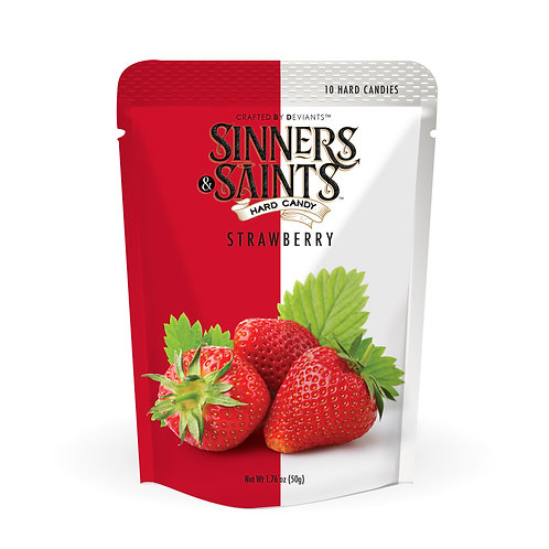 Sinners & Saints® Hard Candy - Strawberry