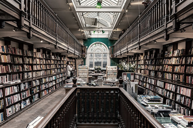 Interior de la librería