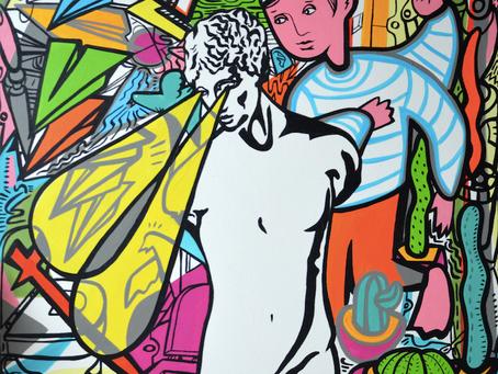 Matlakas! A journey between painting and performance art