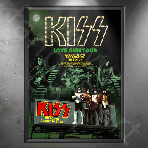KISS Love Gun Tour 1977