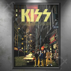 KISS Dressed to Kill Tour 1975