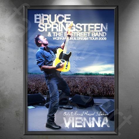 BRUCE SPRINGSTEEN Working On A Dream Tour 2009