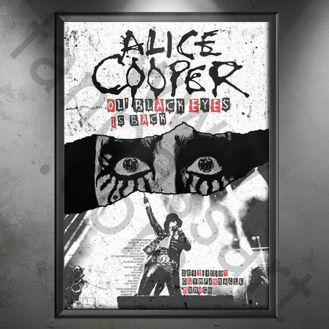 ALICE COOPER Ol' Black Eyes is Back Tour 2019