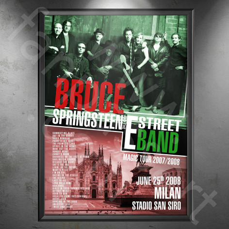 BRUCE SPRINGSTEEN Magic Tour 2007-2008