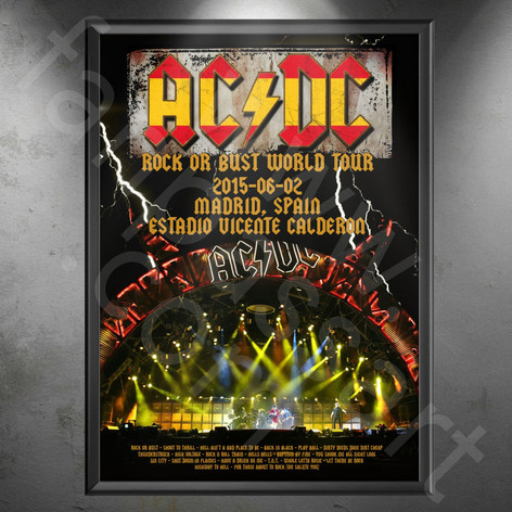 AC/DC Rock Or Bust Tour 2015-2016