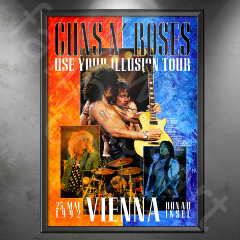 GUNS N' ROSES Use Your Illusion Tour 1991-1993