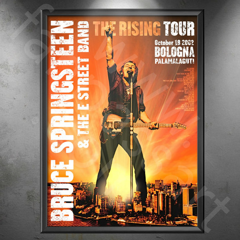 BRUCE SPRINGSTEEN The Rising Tour 2002-2003