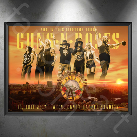 GUNS N' ROSES Not In This Lifetime Tour 2016-2019 Wien 2017