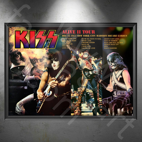 KISS Alive II Tour 1977-1978