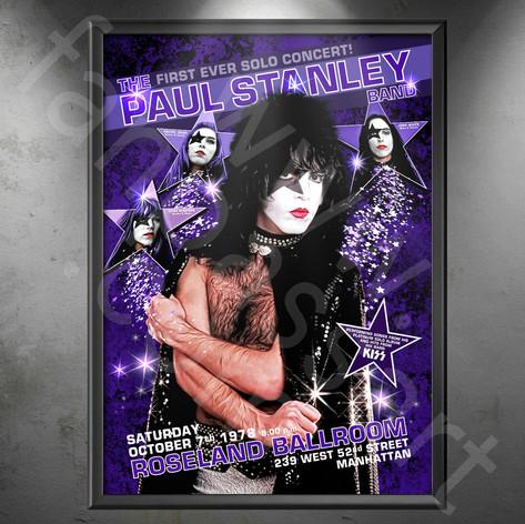 KISS Paul Stanley Solo Tour 1978 (fantasy poster)