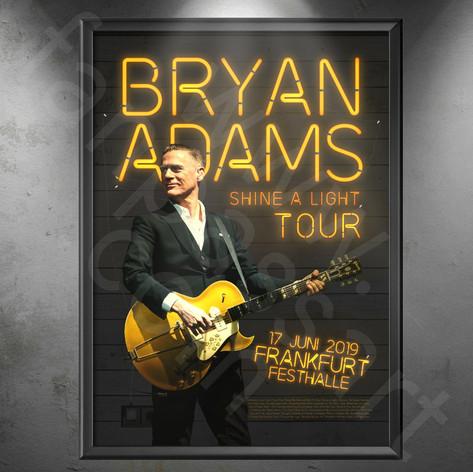 BRYAN ADAMS Shine a Light Tour 2019