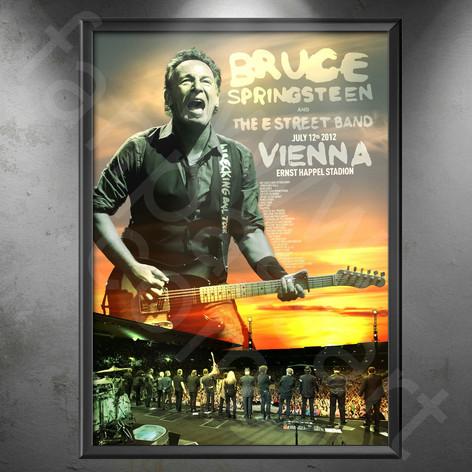 BRUCE SPRINGSTEEN Wrecking Ball Tour 2012-2013
