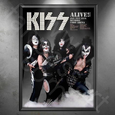 KISS Alive! Tour 1975-1976 version 1