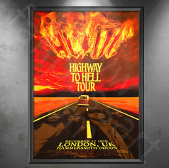 AC/DC Highway To Hell Tour 1979-1980