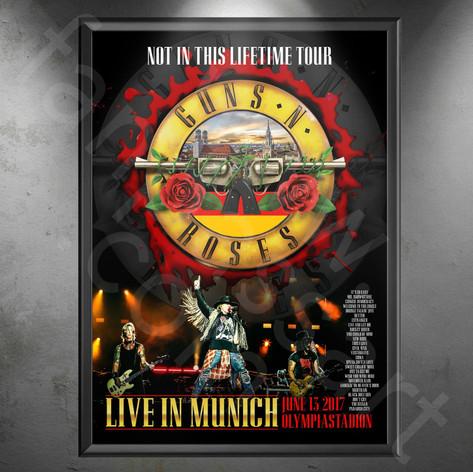 GUNS N' ROSES Not In This Lifetime Tour 2017-2019