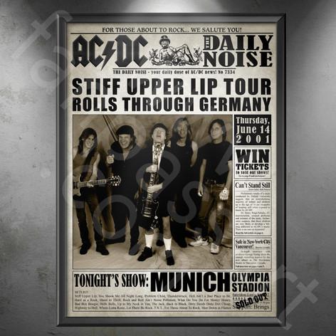 AC/DC Stiff Upper Lip Tour 2000-2001