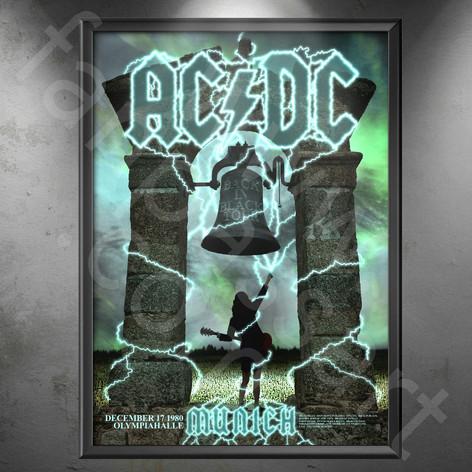 AC/DC Back in Black Tour 1980-1981