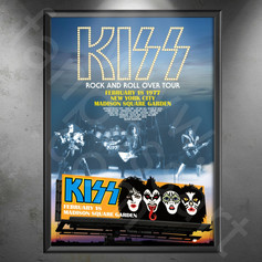 KISS Rock And Roll Over Tour 1976-1977