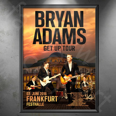 BRYAN ADAMS Get Up Tour Frankfurt 2016