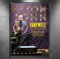ELTON JOHN Farewell Yellow Brick Road Tour 2018-2020