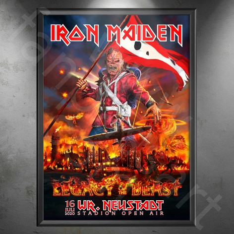 IRON MAIDEN Legacy of the Beast Tour 2018-2020