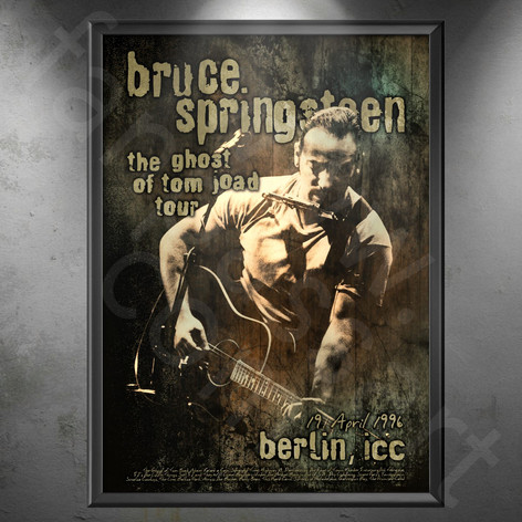 BRUCE SPRINGSTEEN The Ghost Of Tom Joad Tour 1995-1997