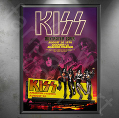 KISS Destroyer Tour 1976