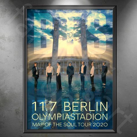 BTS Map of the Soul Tour 2020