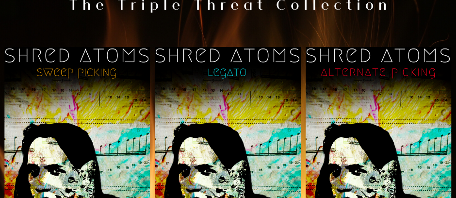 Shred Atoms | The Triple Threat Collection