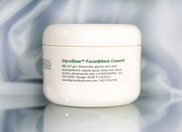 GlycoShea™ Facial and Neck Cream/ 8 oz (227 gm)