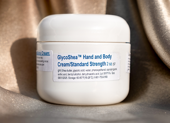GlycoShea™ Hand and Body Cream: Standard Strength/ 2 oz (57 gm)