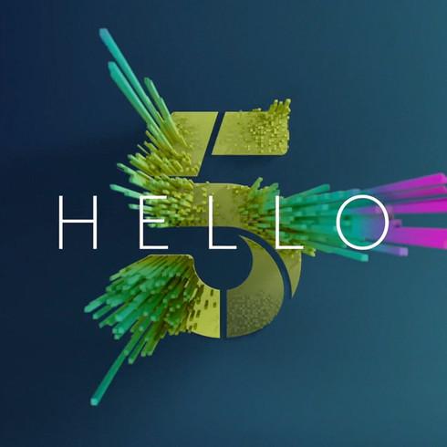Channel 5 'Rebrand 2016'