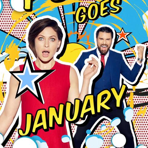 Celebrity Big Brother 2017 'Campaign artwork'