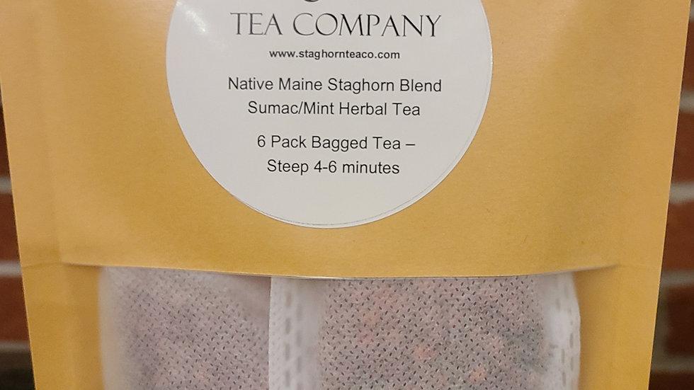 6 Pack - Native Maine Staghorn Blend- Sumac/Mint