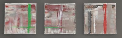Abstract drieluik