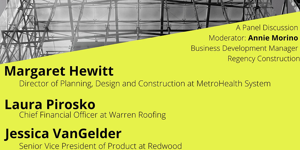 Virtual Event: Women in Construction Week Panel 2021