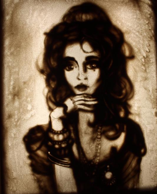 Sand Studio, девушка