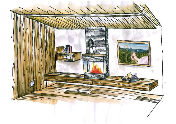 ideenraich-wohnen-schlafen-zeichnung