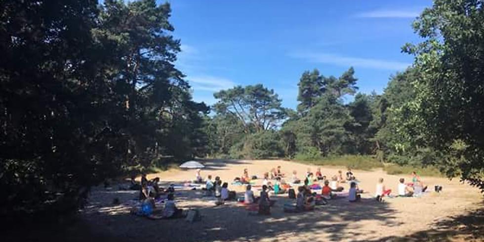 Nazali Yoga in de Kalmthoutse Heide