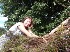 Thatching with heather