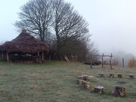Frosty morning at the tannery