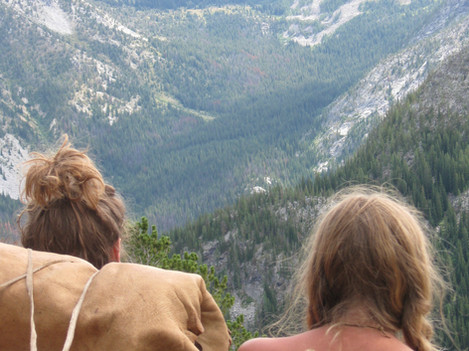 Looking out over the Cascade mountians